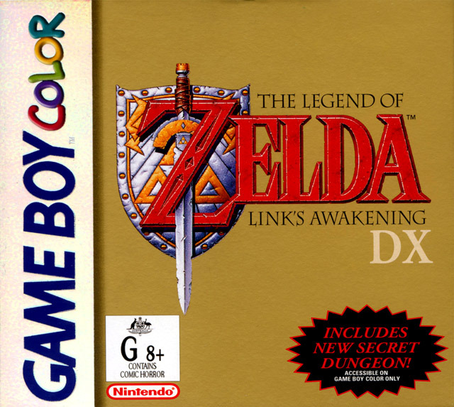 The Legend of Zelda: Link's Awakening DX [GB, GBC] [ESPAÑOL] [MG]