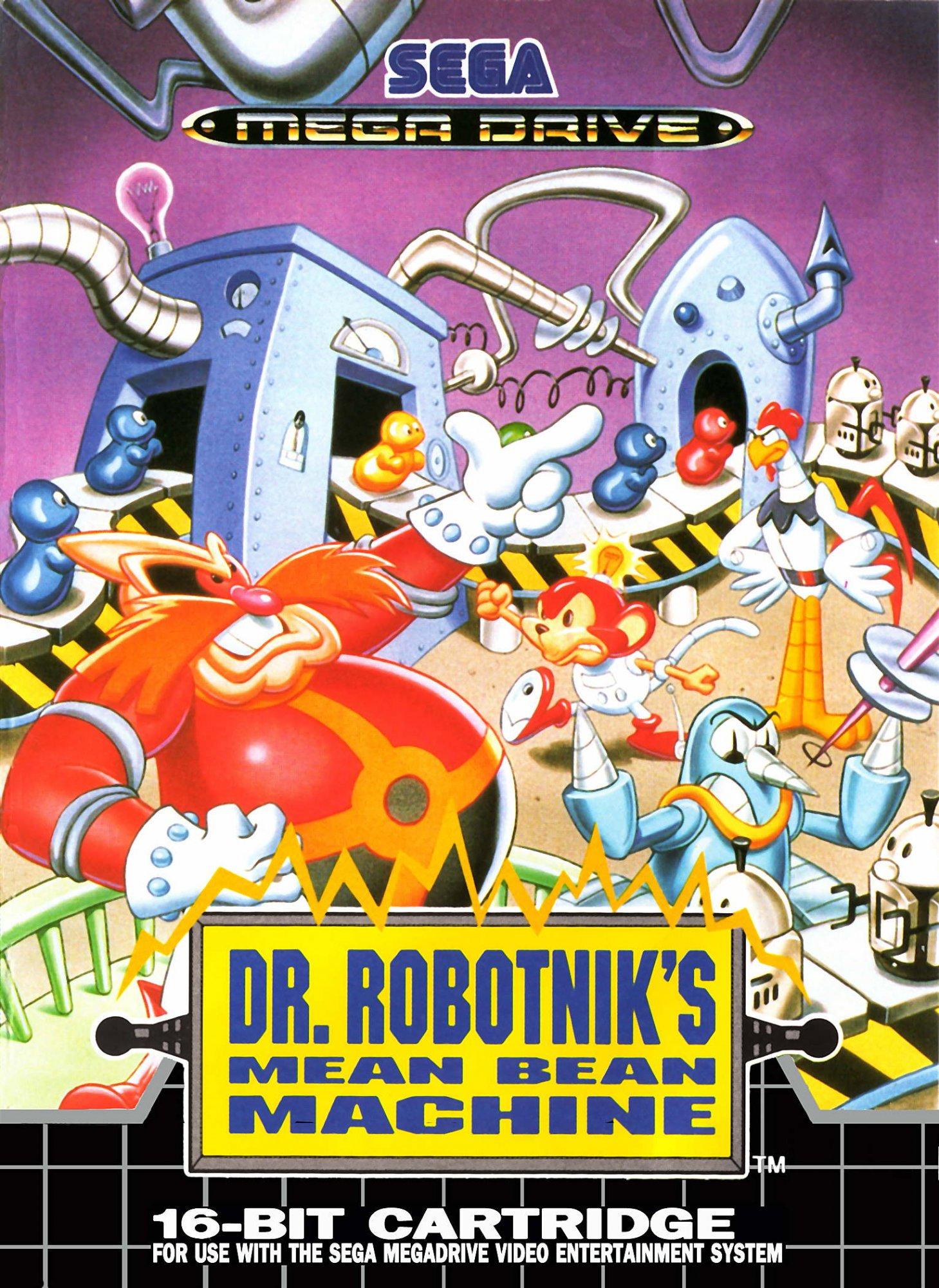 dr robotnik s bean machine rom