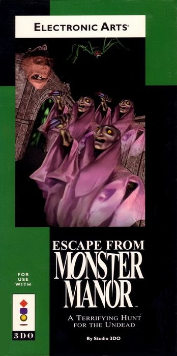 Escape from Monster Manor : A Terrifying Hunt for the Undead