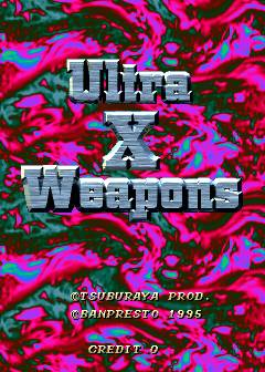 Ultra X Weapons