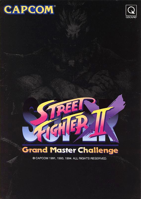 Super Street Fighter II X: Grand Master Challenge