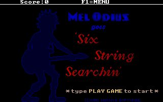 Mel Odius goes Six String Searchin'