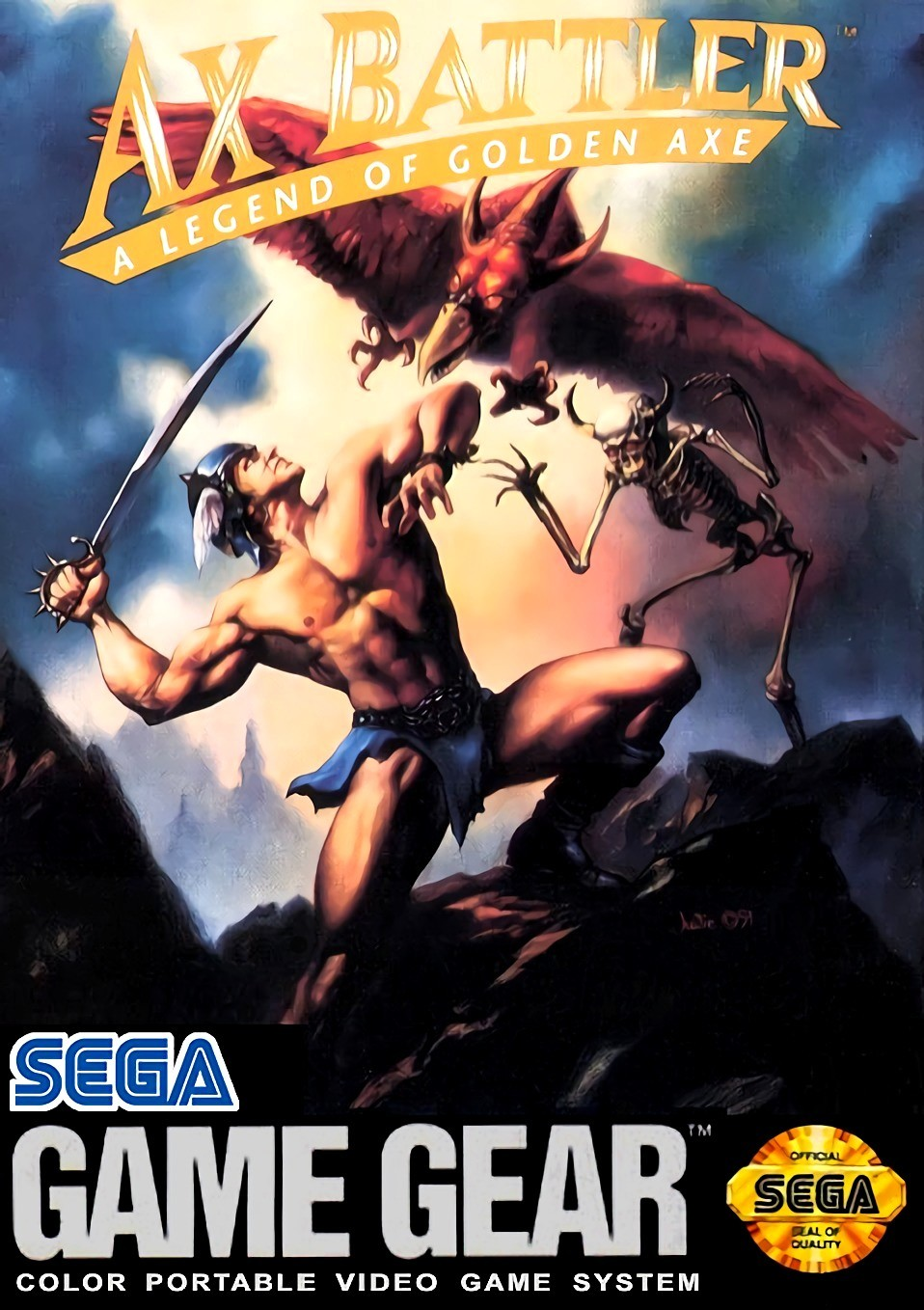 Ax Battler - A Legend of Golden Axe