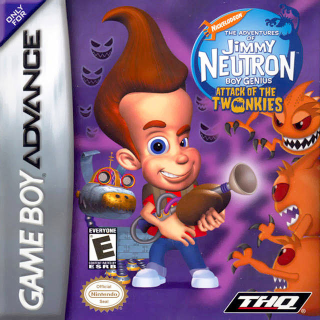 The Adventures of Jimmy Neutron Boy Genius : Attack of the Twonkies