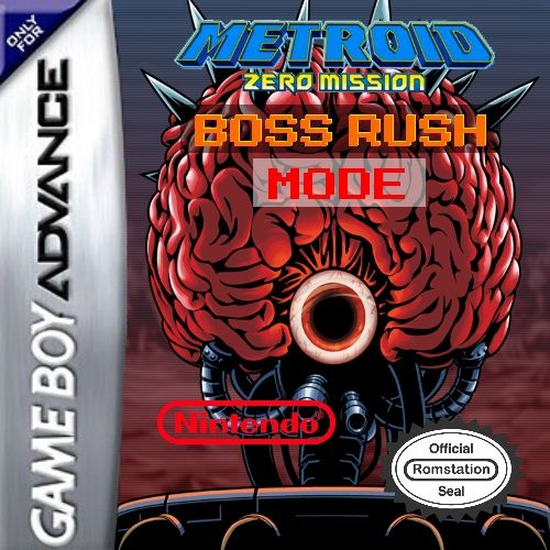 Metroid Zero Mission - Boss Rush Mode