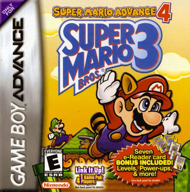 Super Mario Advance 4 : Super Mario Bros. 3 (e-Reader Levels)