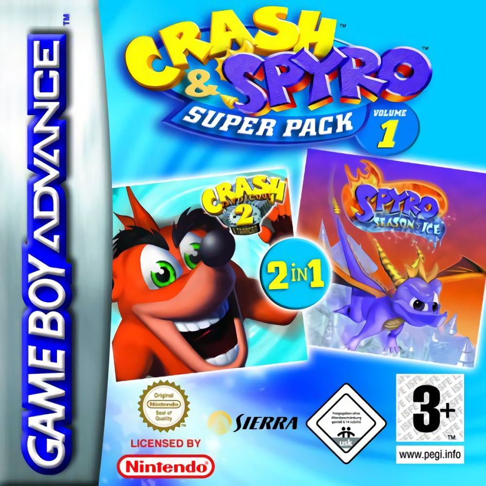Crash & Spyro Superpack Volume 1