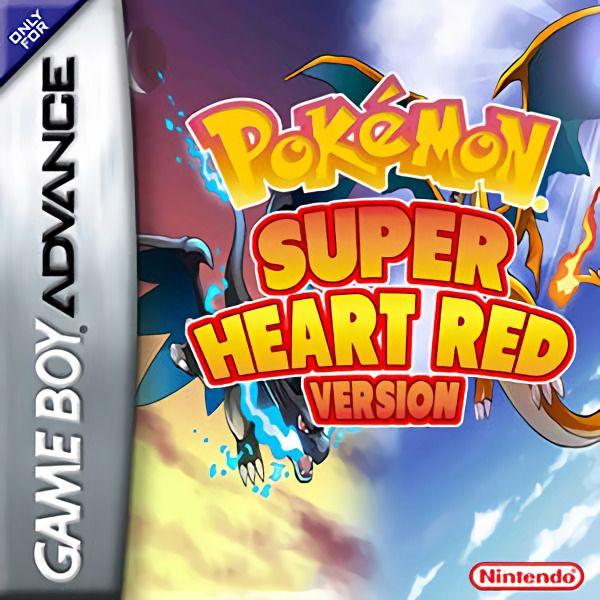 Pokémon Super Heart Red - Jeux - RomStation