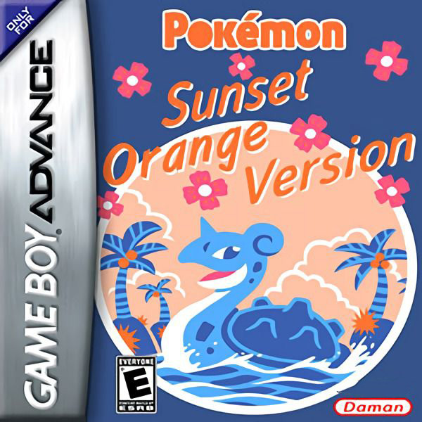 Pokémon Sunset Orange