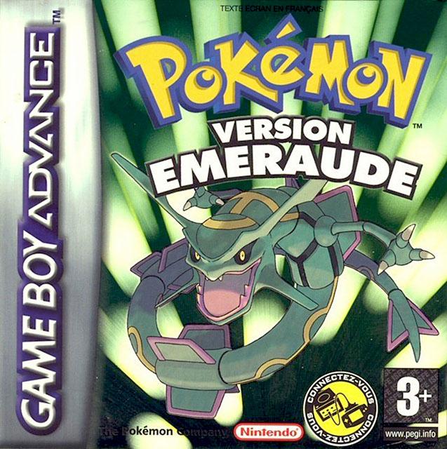 {Télécharger} <b>Pokemon</b> Version <b>Emeraude</b> France ~ GBA ROM ...