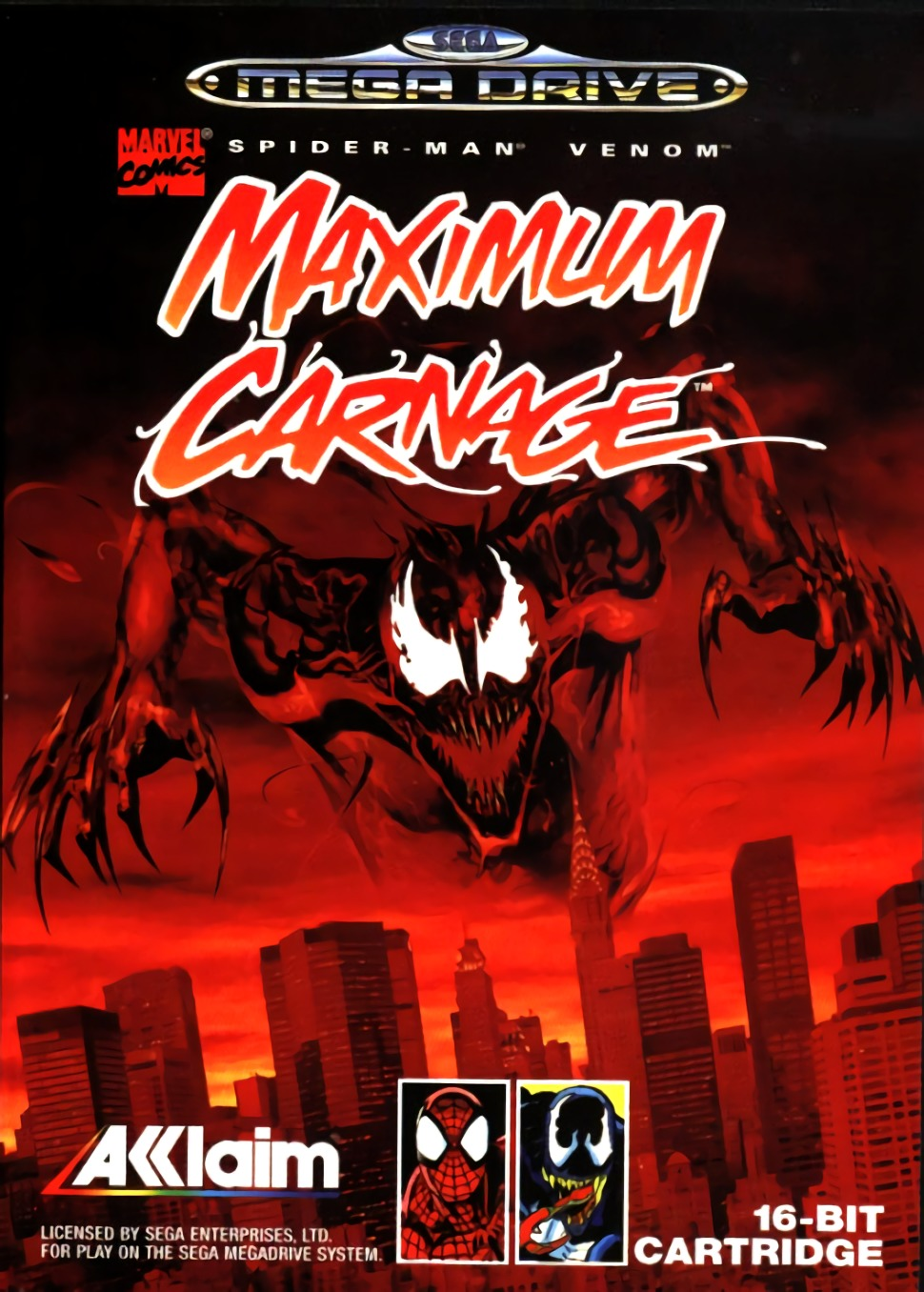 Spider-Man and Venom : Maximum Carnage