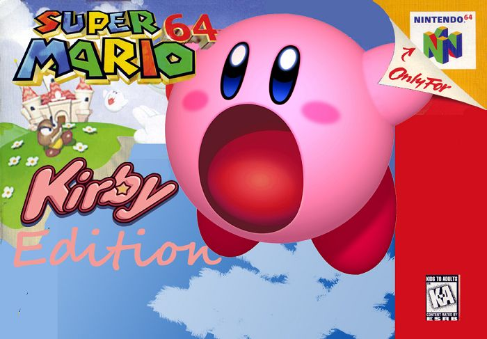 Super Mario 64 : Kirby Edition