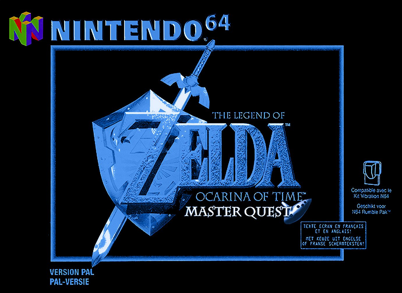 The Legend of Zelda : Ocarina of Time Master Quest