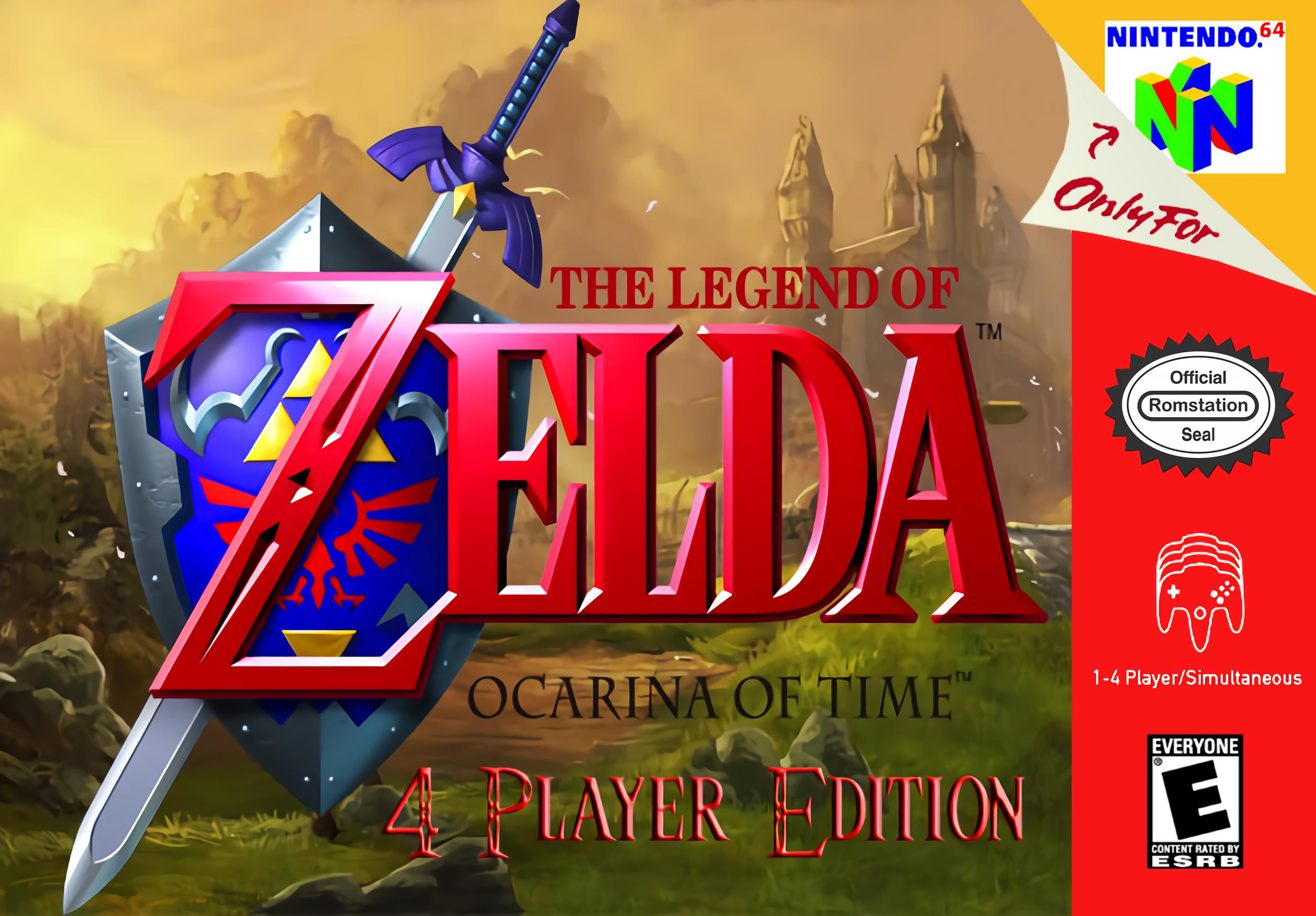 The Legend of Zelda : Ocarina of Time - 4 Player Edition