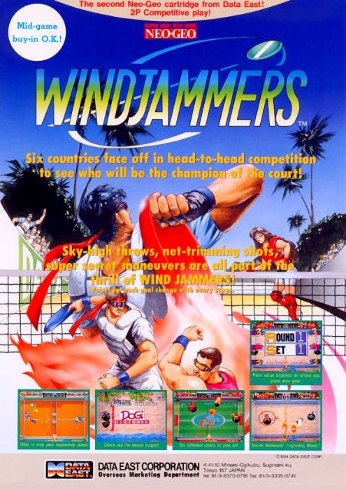 Windjammers : Flying Disk Game