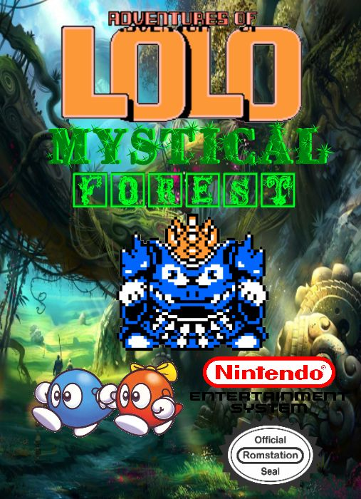Adventures Of Lolo Mystical Forest Jeux Romstation
