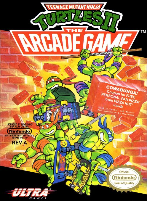 Teenage Mutant Ninja Turtles II : The Arcade Game