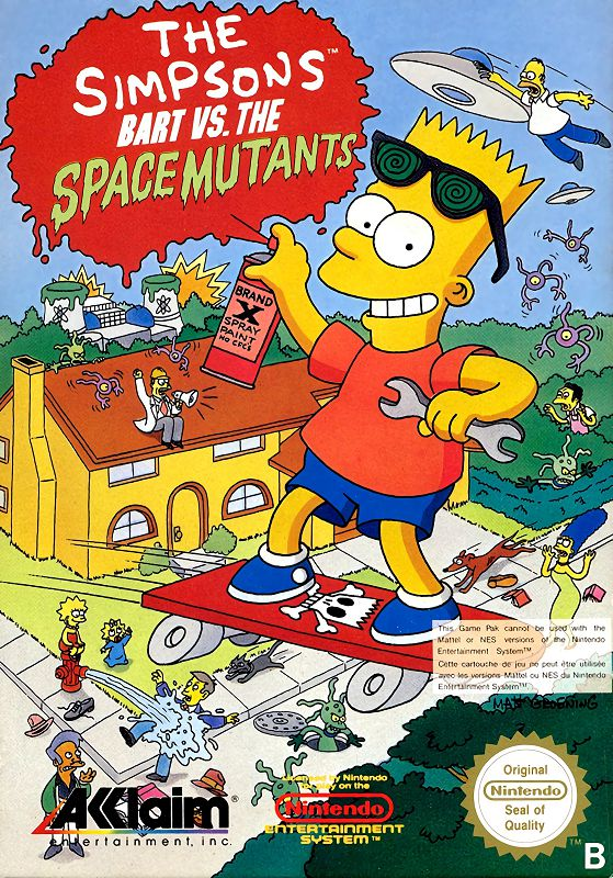 The Simpsons : Bart vs. the Space Mutants