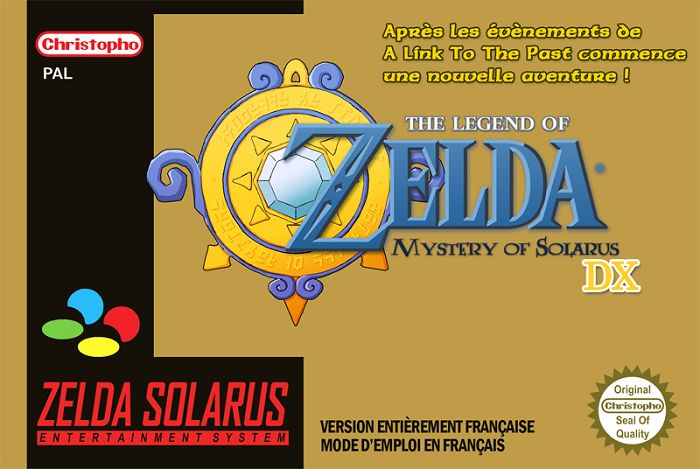 The Legend of Zelda : Mystery of Solarus DX