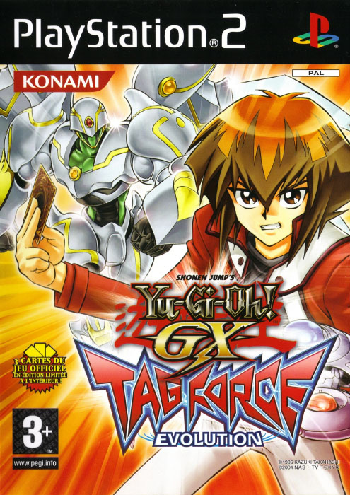 yugioh gx  tag force evolution  télécharger rom iso
