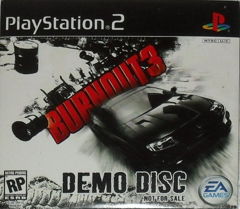 Burnout 3 Demo Disc