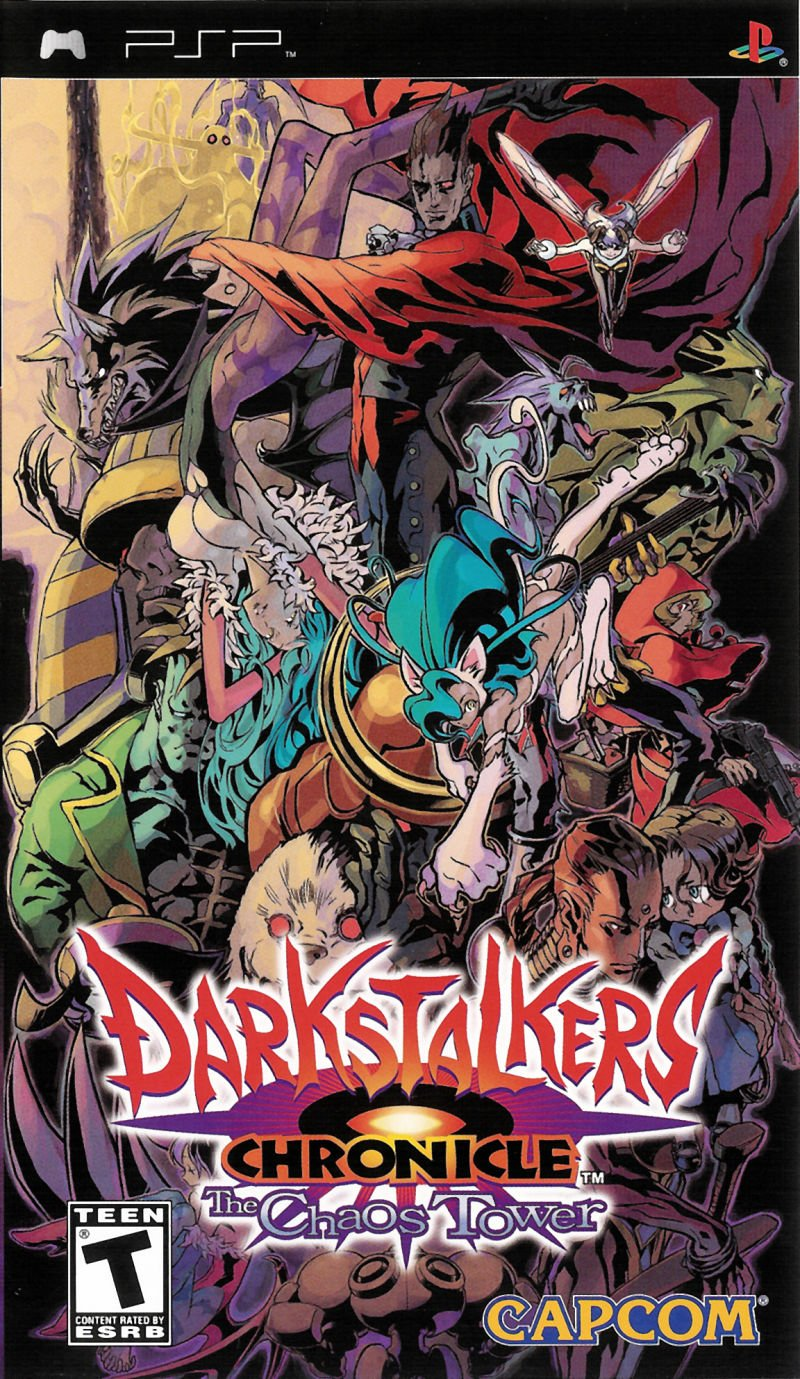 Darkstalkers Chronicles: The Tower of Chaos