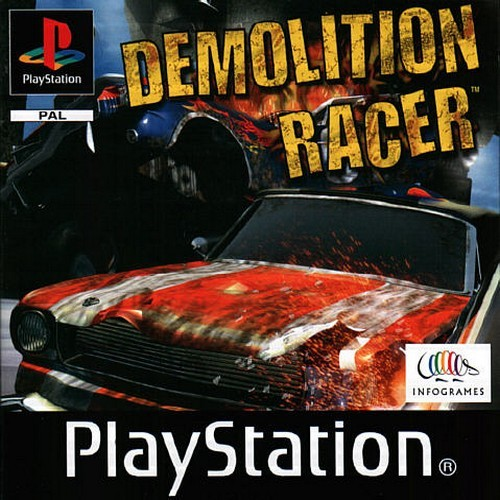 Image result for demolition derby game ps1