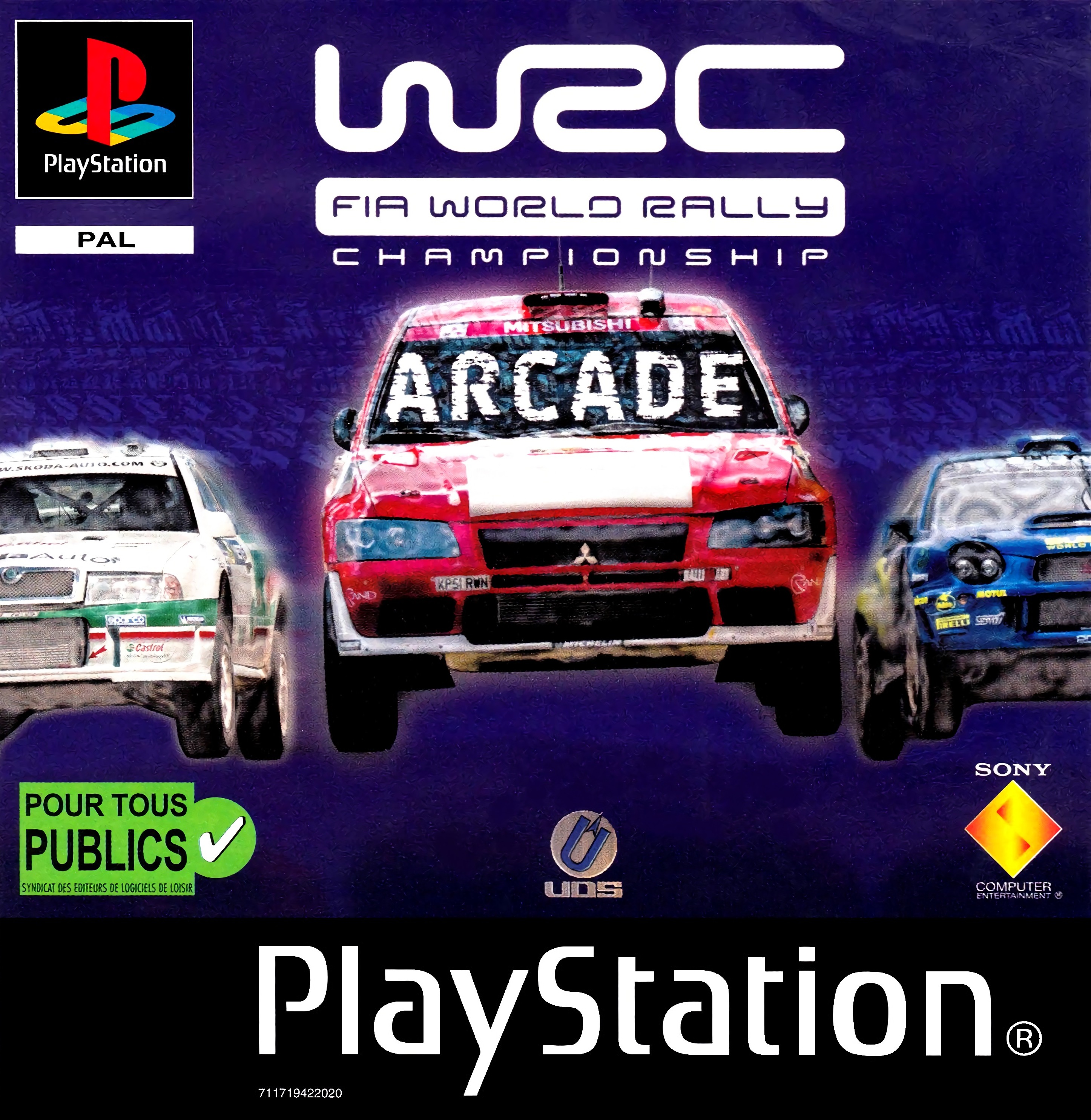 WRC - FIA World Rally Championship Arcade