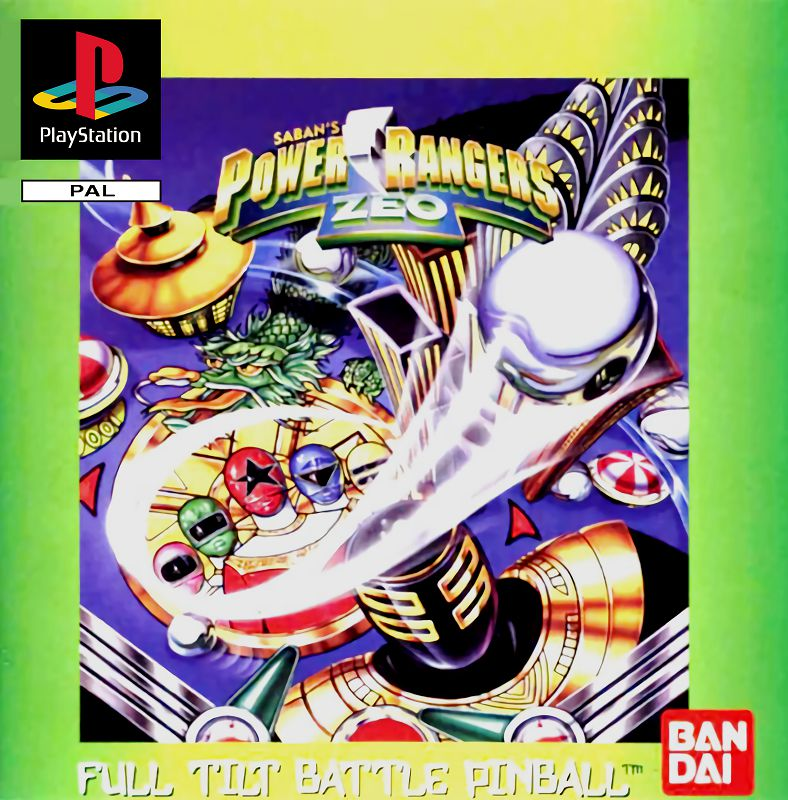 Power Rangers Zeo - Full Tilt Battle Pinball