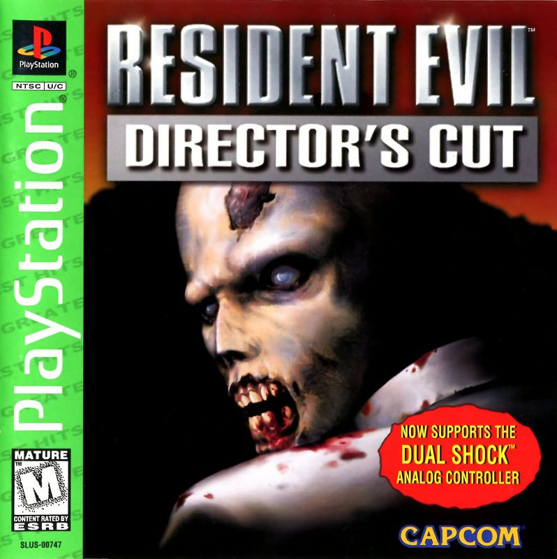 Resident Evil : Director's Cut - Dual Shock Version