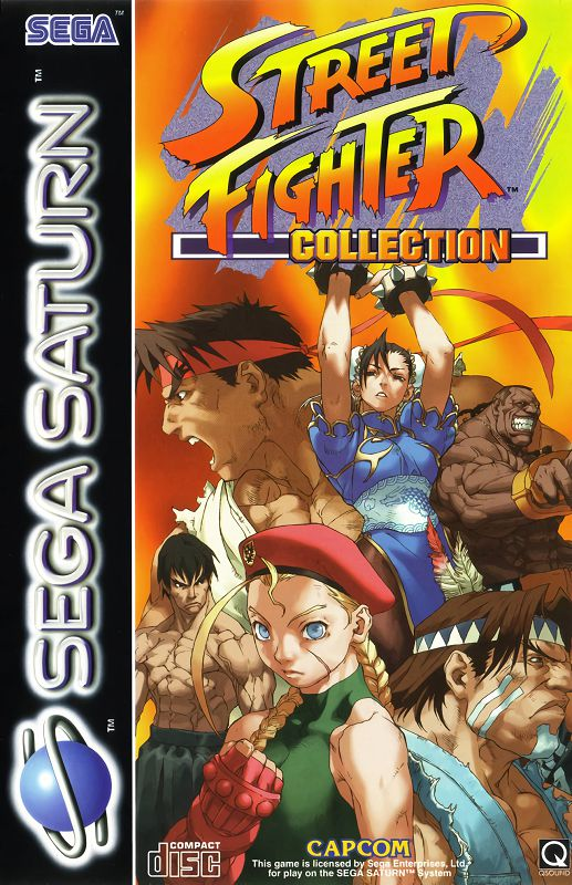 Street Fighter Collection (Disc 1)