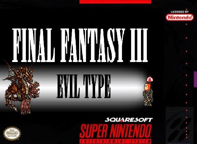 Final Fantasy III Evil Type