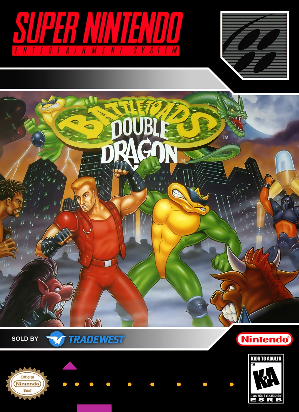 Battletoads & Double Dragon : The Ultimate Team