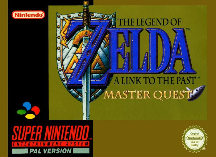 The Legend of Zelda : A Link to the Past - Master Quest