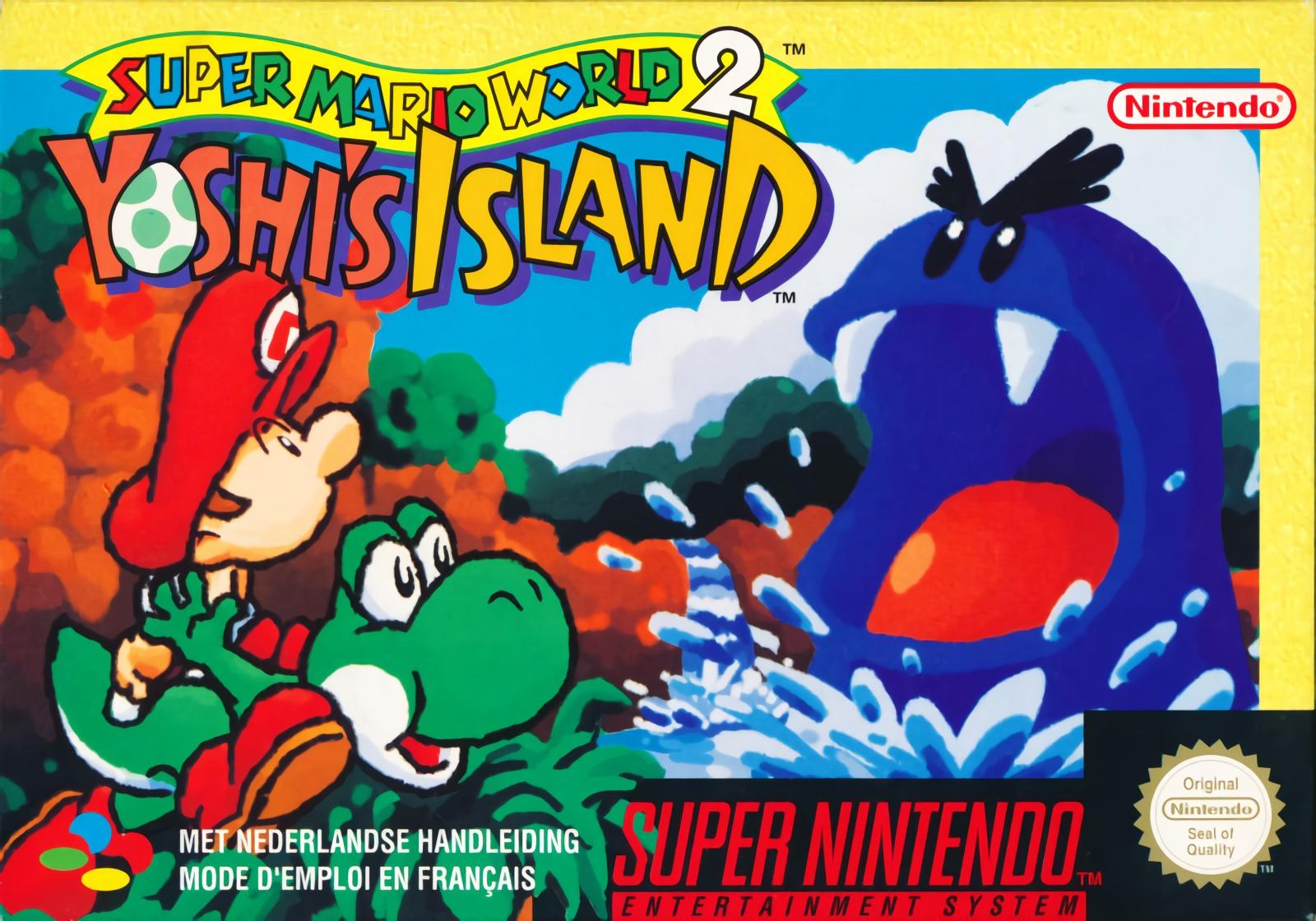 super mario world 2 yoshi's island  télécharger rom iso