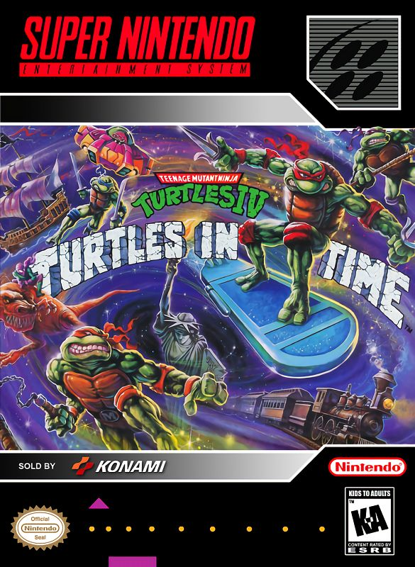 Teenage Mutant Ninja Turtles IV : Turtles in Time