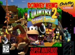 Donkey Kong Country 2   Brigand Barrage copie