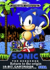 Cover Sonic Megadrive return To The origin