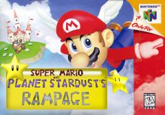 Super Mario And planet stardust's rampage