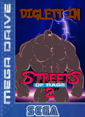 Diglett in Streets of Rage 2 !