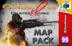 GoldenEye 007: Counter Strike Map Pack (Prototype)