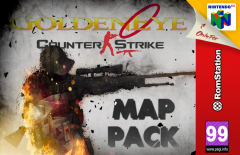 GoldenEye 007: Counter Strike Map Pack