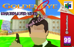 GoldenEye Multiplayer Level - Peach's Castle