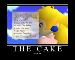 The Cake is a Lie !