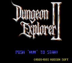 Dungeon Explorer II - pce-cd