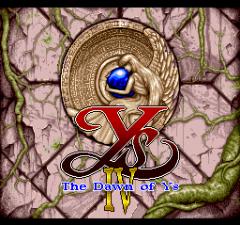 Ys IV - The Dawn of Ys - pce-cd