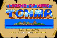 Legend of Hero Tonma - pce