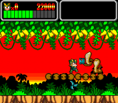 203809-monster-lair-turbografx-cd-screenshot-fighting-some-cobras.png
