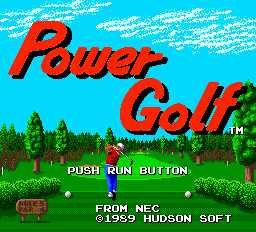 Power Golf - pce