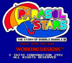 Parasol Stars: Rainbow Islands II - pce